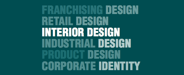 franchising design retail design interior design  industrial design product design corporate identity
