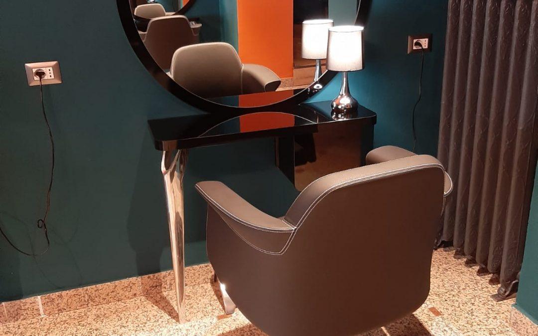 Arredamento salone Gerardo Carbone - Milano
